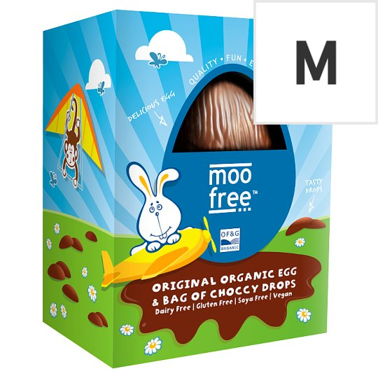 Moo Free From Original Egg And Drops 125G