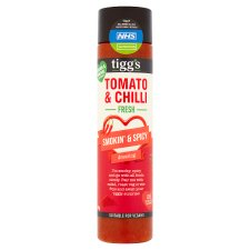 Tigg's Perfect Match Tomato & Chilli Dressing 160Ml