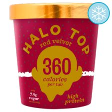 Halo Top Red Velvet Ice Cream 473Ml