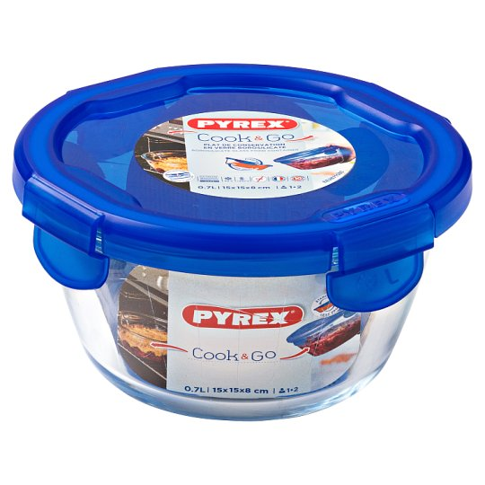 image 1 of Pyrex Cook And Go 0.68L Round