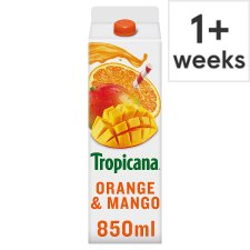 Tropicana Orange And Mango Juice 850 Ml