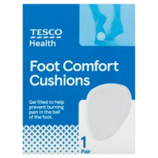 Tesco Clear Foot Cushions