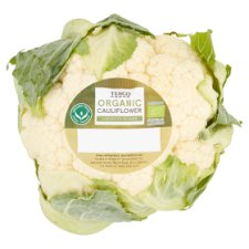 Tesco Organic Cauliflower Each