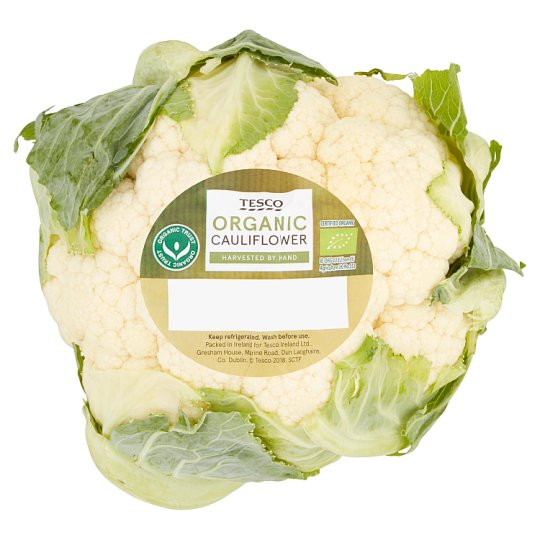 image 1 of Tesco Organic Cauliflower Each