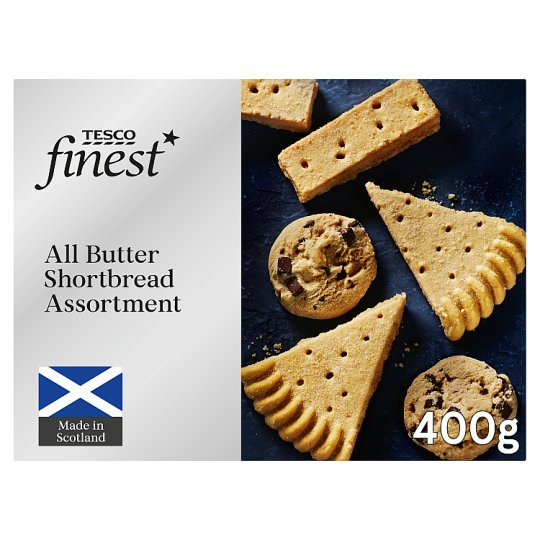 Tesco Finest Scottish Shortbread Assortment 400G