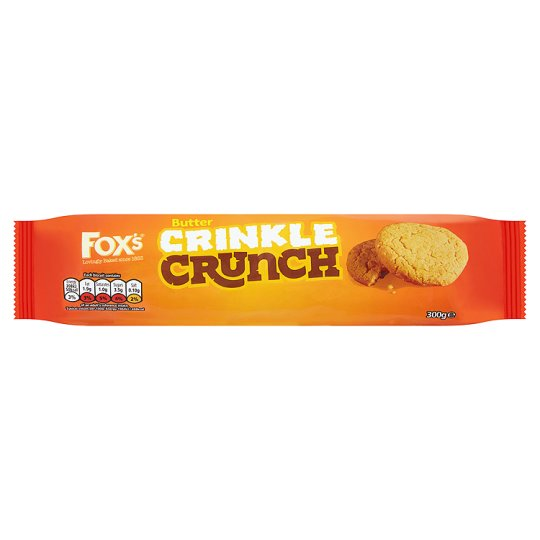 image 1 of Fox's Butter Crinkle Crunch Biscuits 300G