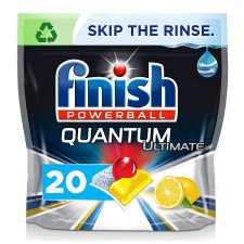 Finish Quantum Ultimate Lemon 20 Dishwasher Tablets