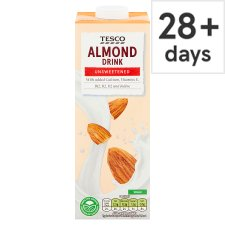 Tesco Almond Unsweetened Milk 1 Litre