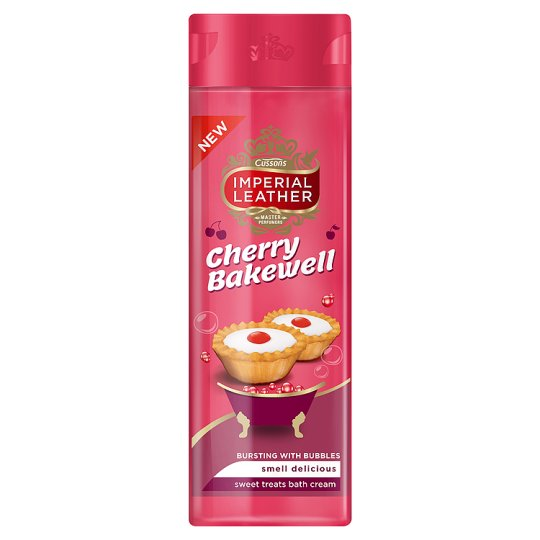 Imperial Leather Cherry Bakewell Bath Soak 500Ml