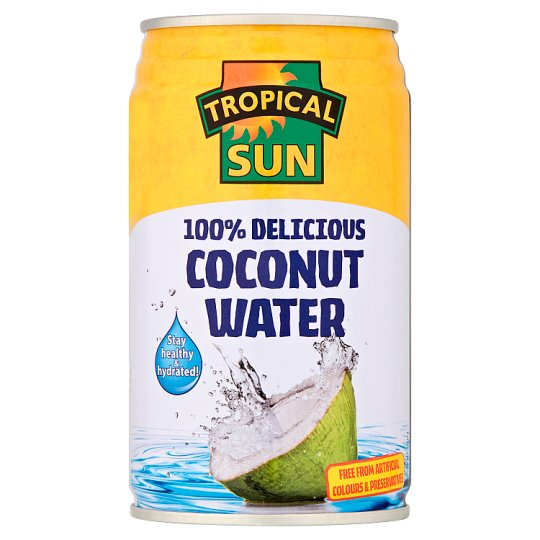 Tropical Sun Natural Coconut Water 330Ml