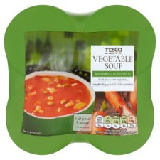 Tesco Vegetable Soup 4 X400g