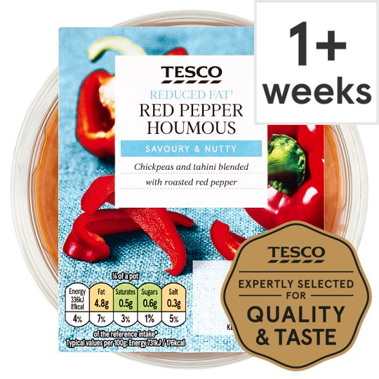 Image result for tesco hummus red pepper