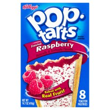Kelloggs Pop Tarts Frosted Raspberry 416G