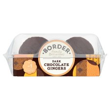 Border Biscuits Dark Chocolate Gingers 175G