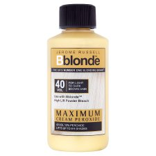 Jerome Russell B Blonde Max Cream Peroxide 40 Volume