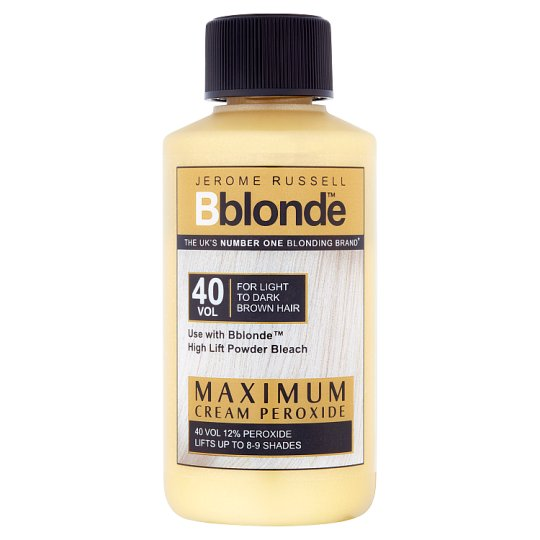 Jerome Russell B Blonde Max Cream Peroxide 40 Volume Tesco Groceries