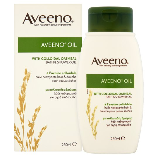 aveeno bath and shower oil 250ml groceries tesco groceries aveeno active naturals skin relief shower amp bath oil