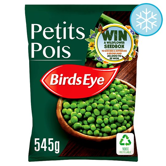 Birds Eye Field Fresh Petits Pois 545G