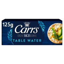 Carrs Table Water Biscuits 125G