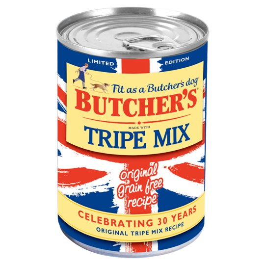 Butchers Tripe Mix Tinned Dog Food 400G