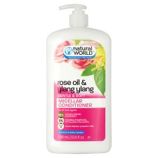 Natural World Rose Oil And Ylang Ylang Conditioner 1000Ml