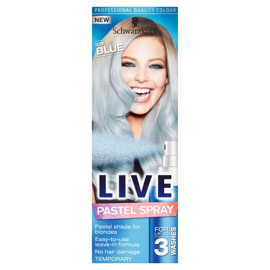 Live Colour Pastel Spray Icy Blue