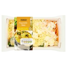 Tesco Vegetable Bake 450G