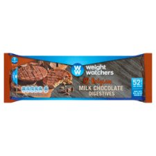 Weight Watchers Milk Chocolate Digestive Biscuit 132G