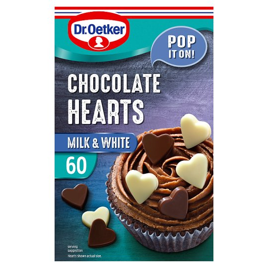 Dr. Oetker Giant Chocolate Hearts 40G