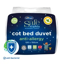 Silent Night Anti-Allergy Cotbed Duvet