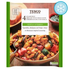 Tesco Chickpea Bulgur Wheat And Mixed Vegetables 600G