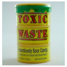 Toxic Waste Sour Candy Drum 42G