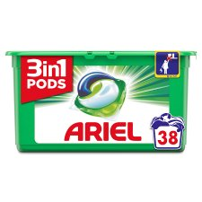 Ariel 3In1 Pods Washing Capsules 38 Washes