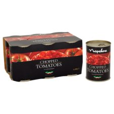 image 2 of Napolina Chopped Tomatoes 6 X400g