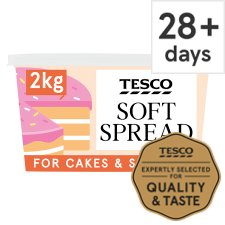 Tesco Soft Baking Spread 2Kg