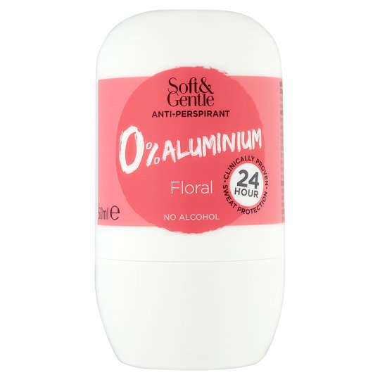 Soft And Gentle 0% Aluminium Roll On Floral 50Ml