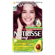 Garnier Nutrisse 4.6 Deep Red Permanent Hair Dye