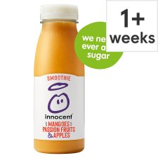 Innocent Mango & Passion Fruit Smoothie 250 Ml