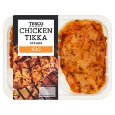Tesco Chicken Tikka Steaks 300G