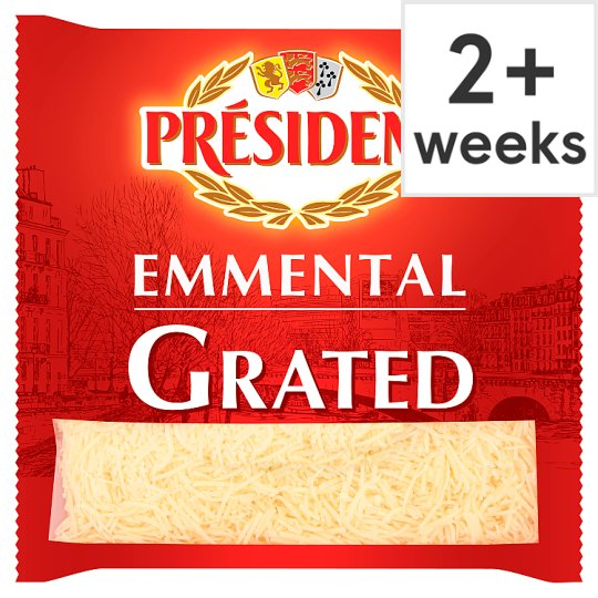 President Grated Emmental Cheese 200 G