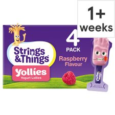 Yollies Raspberry Yogurt 4 X25g