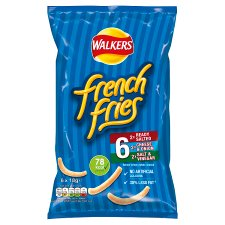Walkers French Fries Variety Snacks 6 X 18 G