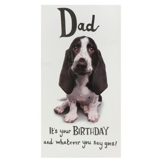 Hallmark Birthday Card Dad Humour