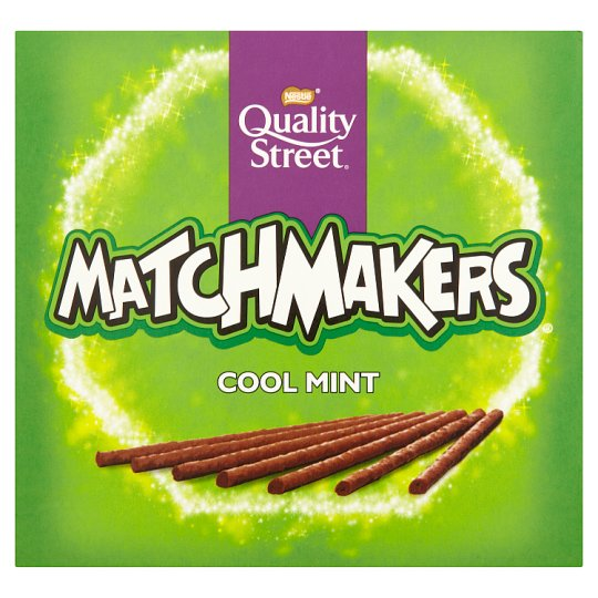 image 1 of Quality Street Matchmakers Mint Chocolate Box 130G
