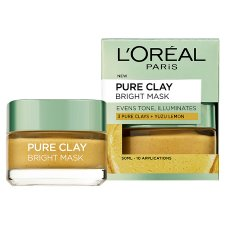 image 2 of L'oreal Paris Pure Clay Bright Face Mask 50Ml