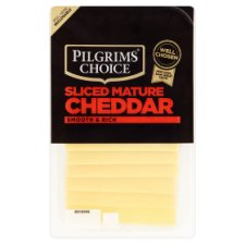 Pilgrims Choice Mature Slice Cheddar Cheese 150 G