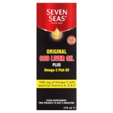 Seven Seas Cod Liver Oil Liquid 170Ml