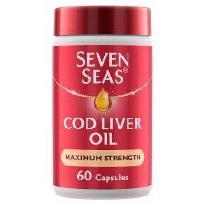Seven Seas Cod Liver Oil Extra High Strength 60 Capsules