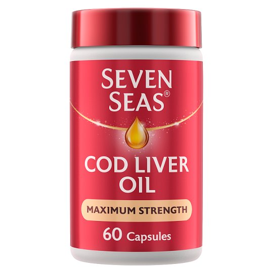Seven Seas Extra High Strength Cod Liver Oil 1050Mg 60