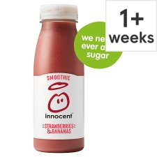 Innocent Strawberry And Banana Smoothie 250 Ml